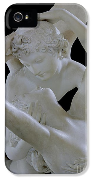 Angelic iPhone 5 Cases - Psyche Revived by the Kiss of Cupid iPhone 5 Case by Antonio Canova