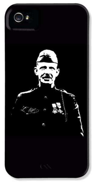 Memorial Day iPhone 5 Cases - Sergeant Alvin York iPhone 5 Case by War Is Hell Store