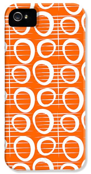 Tangerine Loop IPhone 5 / 5s Case by Linda Woods