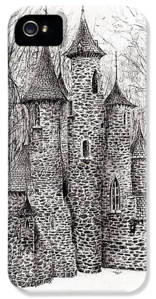 The Castle In The Forest Of Findhorn IPhone 5 / 5s Case by Vincent Alexander Booth