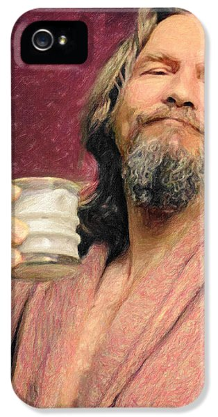 The Dude IPhone 5 / 5s Case by Taylan Apukovska