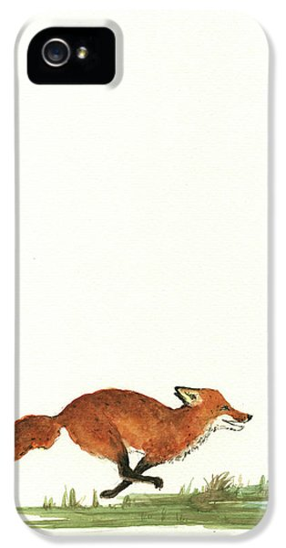 The Fox And The Pelicans IPhone 5 / 5s Case by Juan Bosco