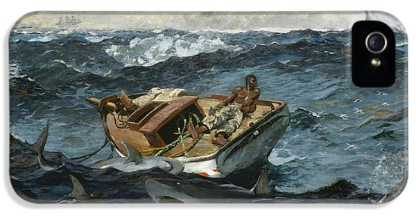 Homer iPhone 5 Cases - The Gulf Stream iPhone 5 Case by Winslow Homer