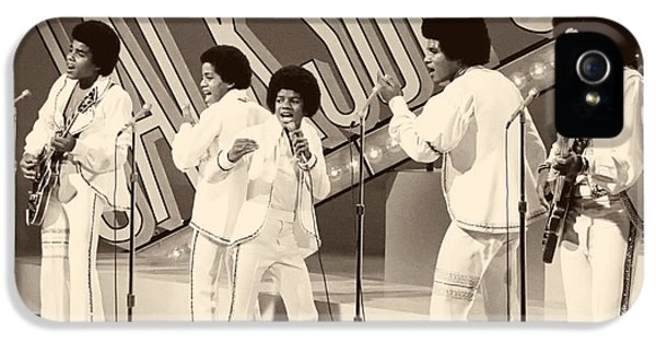 Jackson 5 iPhone 5 Cases - The Jackson 5 1972 iPhone 5 Case by Cbs