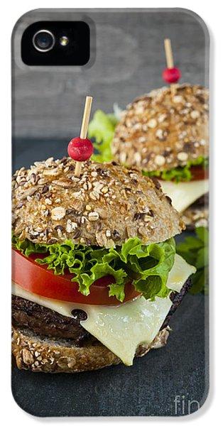 Two Gourmet Hamburgers IPhone 5 / 5s Case by Elena Elisseeva