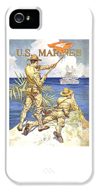 Marine Corps iPhone 5 Cases - US Marines - WW1 iPhone 5 Case by War Is Hell Store