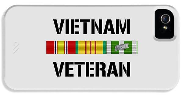 Vietnam Veteran Ribbon Bar IPhone 5 / 5s Case by War Is Hell Store
