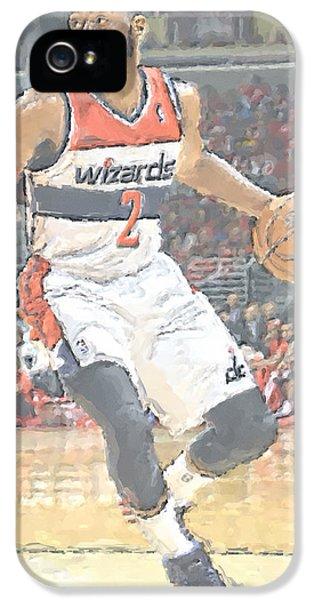 Washington Wizards John Wall IPhone 5 / 5s Case by Joe Hamilton