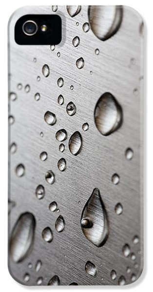 Waterdrop iPhone 5 Cases - Water Drops iPhone 5 Case by Frank Tschakert