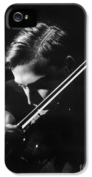 1930s iPhone 5 Cases - Yehudi Menuhin (1916-1999) iPhone 5 Case by Granger