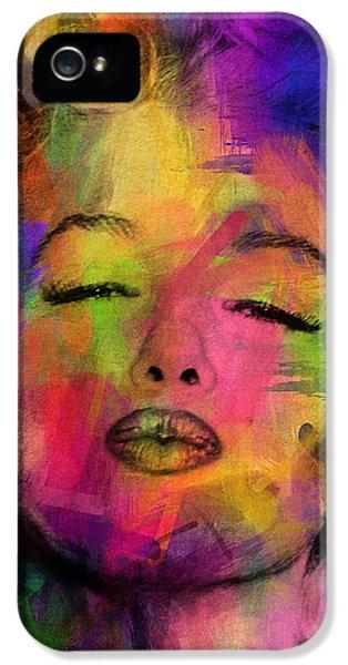 Marilyn Monroe IPhone 5 / 5s Case by Mark Ashkenazi