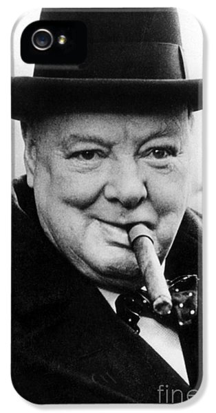 Winston Churchill IPhone 5 / 5s Case by English School