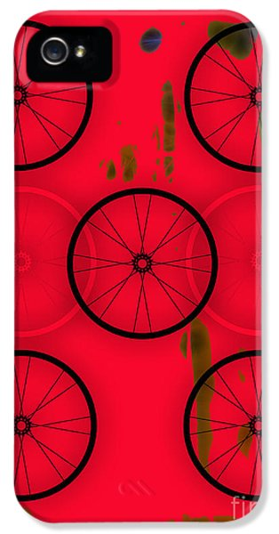 Bicycle Wheel Collection IPhone 5 / 5s Case by Marvin Blaine