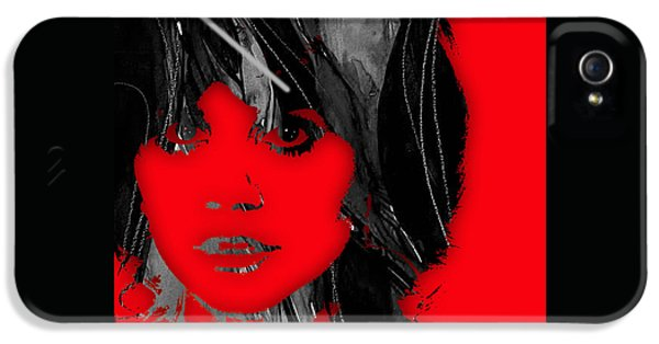 Linda Ronstadt Collection IPhone 5 / 5s Case by Marvin Blaine