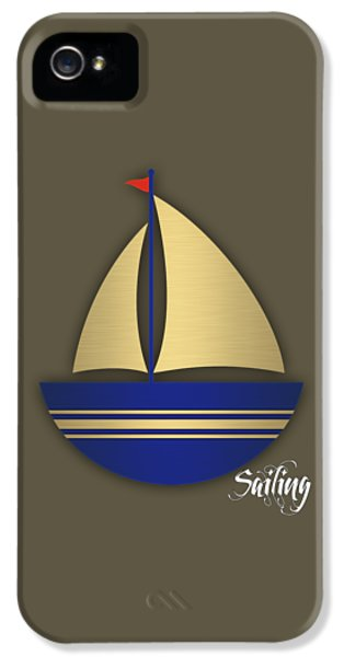 Sea iPhone 5 Cases - Nautical Collection iPhone 5 Case by Marvin Blaine