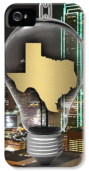 Texas State Map Collection IPhone 5 / 5s Case by Marvin Blaine