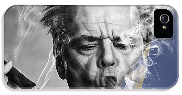 Jack Nicholson Collection IPhone 5 / 5s Case by Marvin Blaine