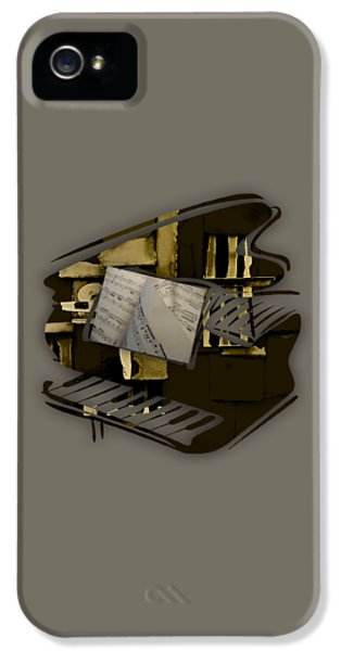 Piano Collection IPhone 5 / 5s Case by Marvin Blaine
