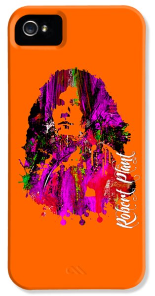 Robert Plant Collection IPhone 5 / 5s Case by Marvin Blaine