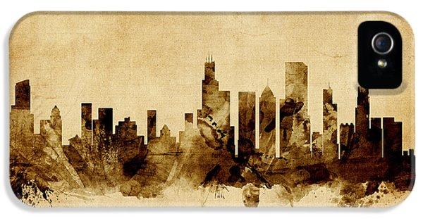 Chicago Illinois Skyline IPhone 5 / 5s Case by Michael Tompsett