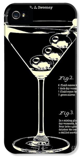 1897 Dirty Martini Patent IPhone 5 / 5s Case by Jon Neidert