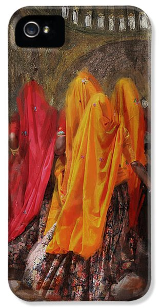 Pakistan iPhone 5 Cases - 19 pakistan folk B iPhone 5 Case by Maryam Mughal