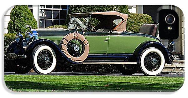 1931 Roadster iPhone 5 Cases - 1928 -1931 Roadster iPhone 5 Case by Marcia Lee Jones