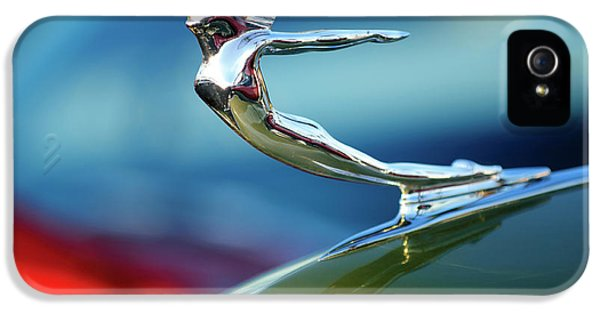 1936 iPhone 5 Cases - 1936 Cadillac Hood Ornament 2 iPhone 5 Case by Jill Reger