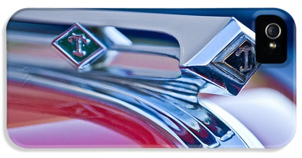 1949 Diamond T Truck Hood Ornament 3 IPhone 5 / 5s Case by Jill Reger