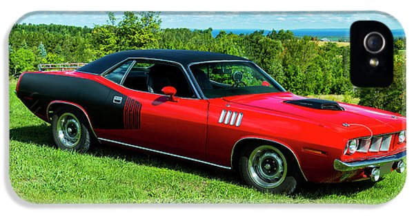 1971 Plymouth IPhone 5 / 5s Case by Performance Image