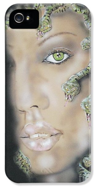 1st Medusa IPhone 5 / 5s Case by John Sodja
