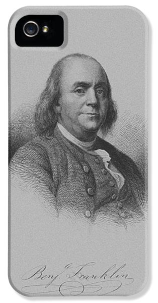 July 4th iPhone 5 Cases - Benjamin Franklin iPhone 5 Case by War Is Hell Store