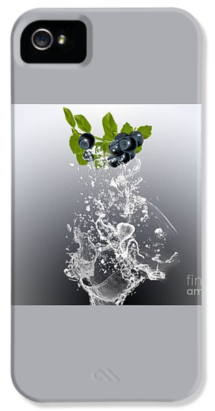 Blueberry Splash IPhone 5 / 5s Case by Marvin Blaine