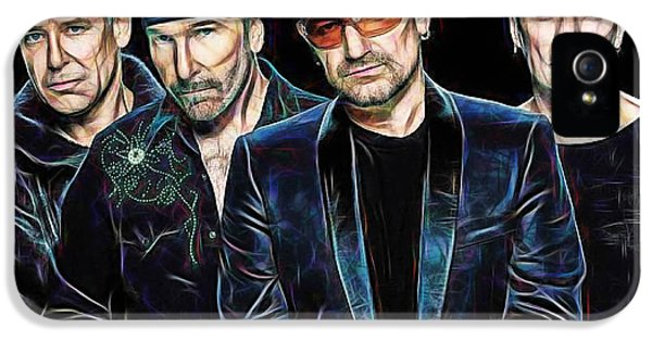 Bono U2 Collection IPhone 5 / 5s Case by Marvin Blaine