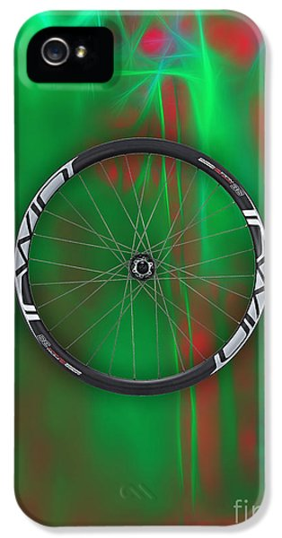 Carbon Fiber Bicycle Wheel Collection IPhone 5 / 5s Case by Marvin Blaine