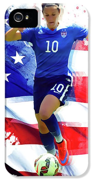 Carli Lloyd IPhone 5 / 5s Case by Semih Yurdabak