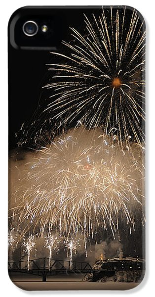 Fire Works iPhone 5 Cases - Celebration iPhone 5 Case by Nina Stavlund