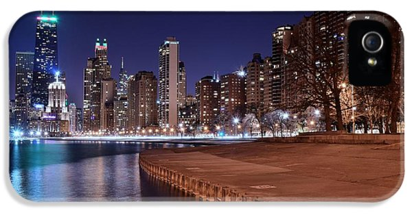 Chicago From The North IPhone 5 / 5s Case by Frozen in Time Fine Art Photography
