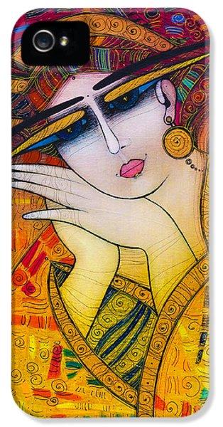 Albena iPhone 5 Cases - Dreaming iPhone 5 Case by Albena Vatcheva