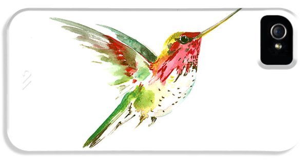 Flying Hummingbird IPhone 5 / 5s Case by Suren Nersisyan