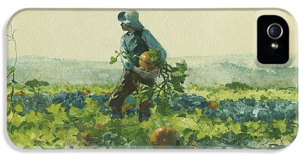 For To Be A Farmer's Boy IPhone 5 / 5s Case by Winslow Homer