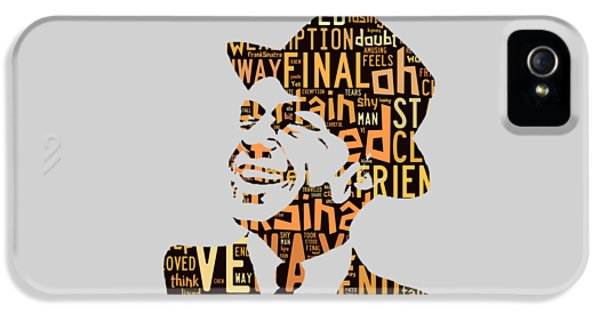 Frank Sinatra I Did It My Way IPhone 5 / 5s Case by Marvin Blaine