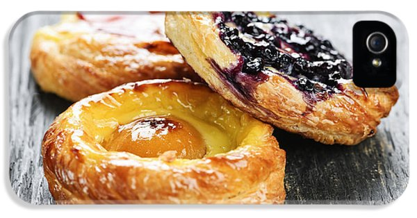 Danish iPhone 5 Cases - Fruit danishes iPhone 5 Case by Elena Elisseeva