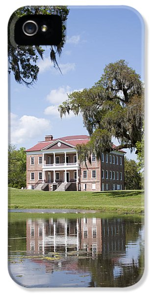Historic Oak iPhone 5 Cases - Historic Drayton Hall in Charleston South Carolina iPhone 5 Case by Dustin K Ryan