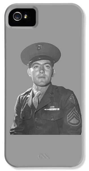 Marine Corps iPhone 5 Cases - John Basilone iPhone 5 Case by War Is Hell Store