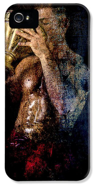 Gay Art iPhone 5 Cases - Long Time Ago iPhone 5 Case by Mark Ashkenazi