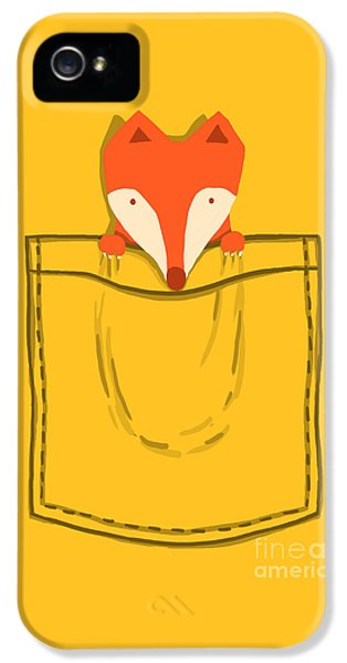 Fox iPhone 5 Cases - My Pet iPhone 5 Case by Budi Kwan