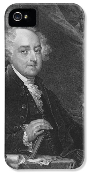 Declaration iPhone 5 Cases - President John Adams iPhone 5 Case by War Is Hell Store