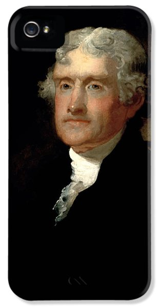 Declaration iPhone 5 Cases - President Thomas Jefferson  iPhone 5 Case by War Is Hell Store