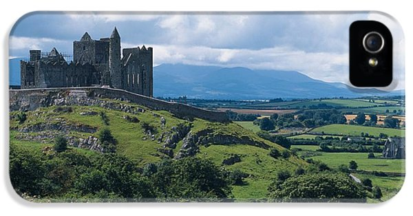 Colour Image iPhone 5 Cases - Rock Of Cashel, Co Tipperary, Ireland iPhone 5 Case by The Irish Image Collection